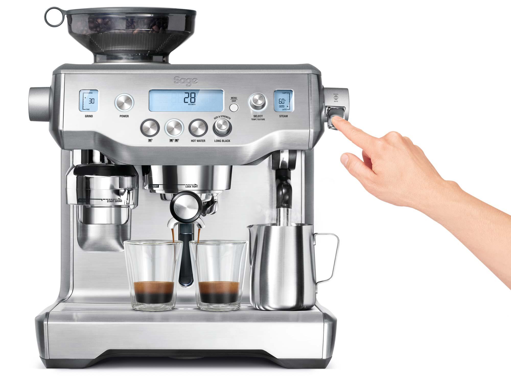 SAGE BES980BKS Kávéfőző
